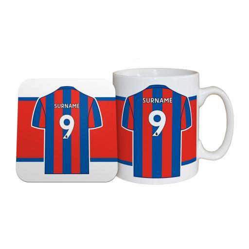Crystal Palace FC Shirt Mug & Coaster Set