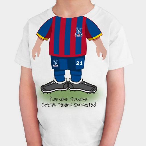 Crystal Palace FC Kids Use Your Head T-Shirt