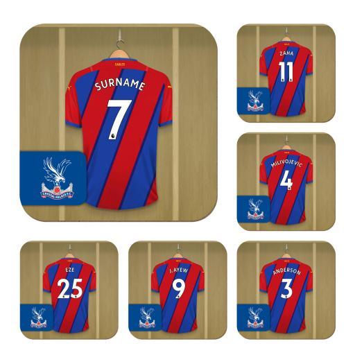 Crystal Palace FC Dressing Room Coasters