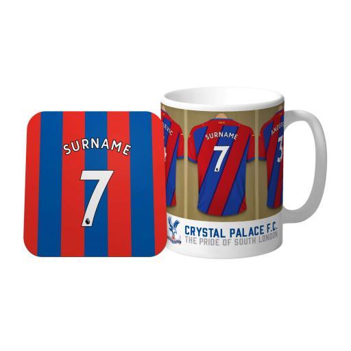 Crystal Palace FC Dressing Room Mug & Coaster Set