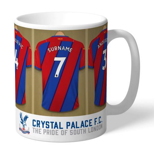 Crystal Palace FC Dressing Room Mug